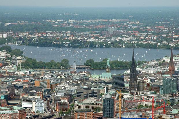 Hamburg Rund Um Die Alster Wolkenmond Unterwegs Mein Fotoblog